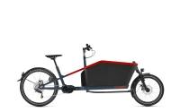 e-Lastenrad-Angebot CubeCargo Hybrid Sport Dual blue´n´red