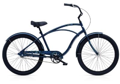 Cruiser-Bike-Angebot Electra BicycleCoaster 3i atlantic blue