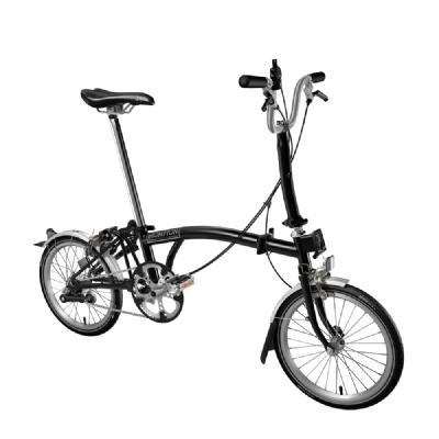 Faltrad-Angebot BromptonEdition Black H6 LTD