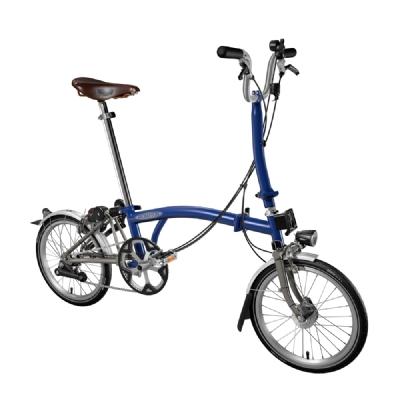 Faltrad-Angebot BromptonM3 cobaltblau