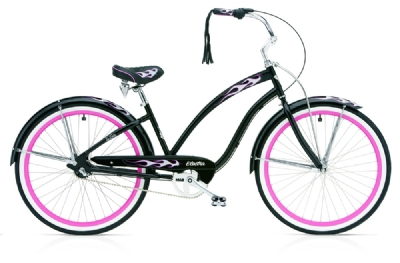 Cruiser-Bike-Angebot Electra BicycleBlack Betty 3i