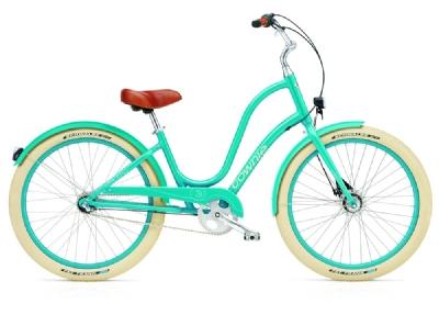 Cruiser-Bike-Angebot Electra BicycleTownie Balloon  3i EQ azure la