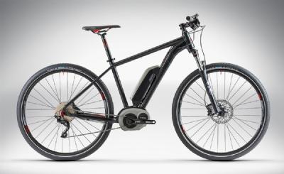E-Bike-Angebot CubeSUV HYBRID 29 black�n�red