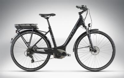 E-Bike-Angebot CubeTOWN HYBRID black