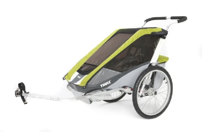 Anh�nger-Angebot Thule ChariotCougar 1 incl. Fahrradset
