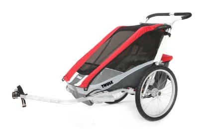 Anh�nger-Angebot Thule Chariot Cougar 2 incl. Fahrradset