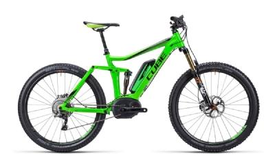 E-Bike-Angebot CubeStereo Hybrid 140 HPA SL green