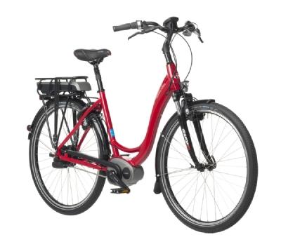 E-Bike-Angebot blue labelSwing Rot/Schwarz/Weiss