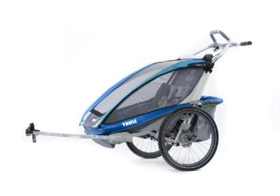 Anhänger-Angebot Thule ChariotCX 2 incl. Fahrradset