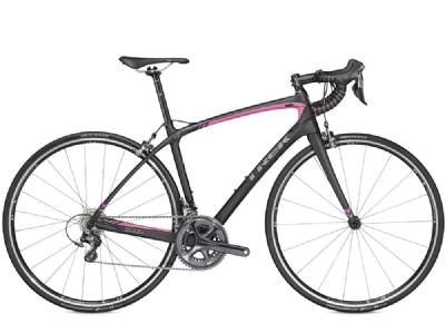 Rennrad-Angebot TrekTrek Silque SL Compact 54cm Matte Trek Black/Flamingo Pink