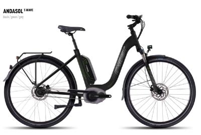 E-Bike-Angebot GhostAndasol 5 Wave E- Bike Akku 400Wh Elektrorad