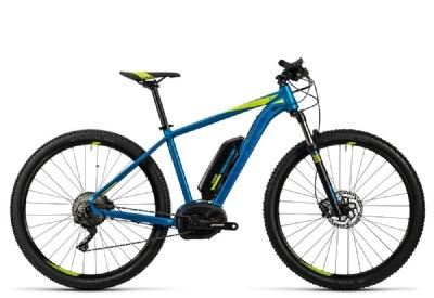 E-Bike-Angebot CubeReaction Hybrid HPA Race  blue n kiwi