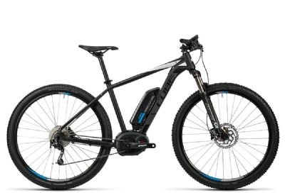 E-Bike-Angebot Cube Reaction Hybrid HPA Pro  black n white