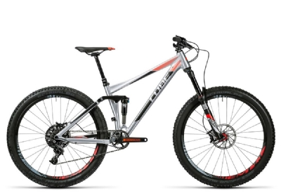 Mountainbike-Angebot Cube Stereo 140 HPA SL 27.5 metal�n�flashred