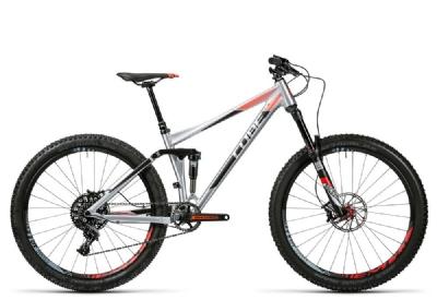Mountainbike-Angebot CubeStereo 140 HPA SL 27.5 metal´n´flashred