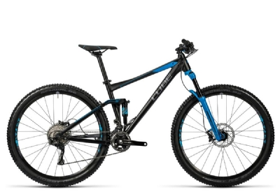 Mountainbike-Angebot Cube Stereo 120 HPA Race 29 black´n´blue