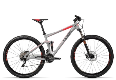 Mountainbike-Angebot Cube Stereo 120 HPA Pro grey�n�flashred