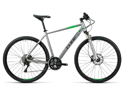 Crossbike-Angebot Cube Cross Pro silver grey green