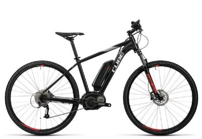 E-Bike-Angebot CubeCross Hybrid Pro 400 black´n´red