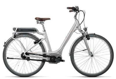 E-Bike-Angebot CubeElly Cruise Hybrid  silver�n�flashred