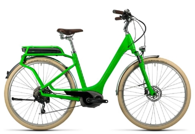 E-Bike-Angebot CubeElly Ride Hybrid 500 flashgreen´n´kiwi