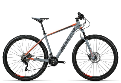 Mountainbike-Angebot Cube Acid grey´n´flashorange 2016