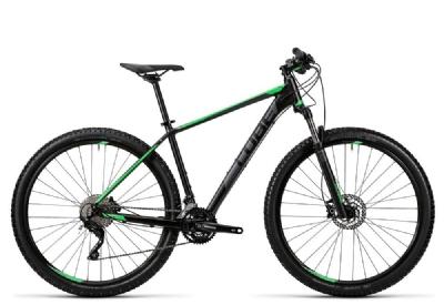 Mountainbike-Angebot CubeAttention black´n´green
