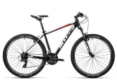 Mountainbike-Angebot CubeAim 27.5 black´n´red 14