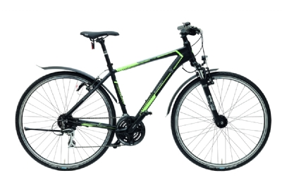 Trekkingbike-Angebot GudereitCS 30 Herren Rh. 48 schwarz-weiß