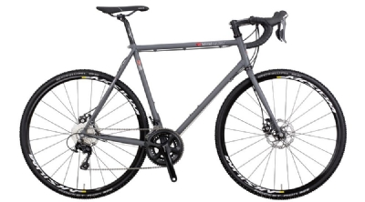 Rennrad-Angebot VSF FahrradmanufakturCR 500 16 He 57 105 2x11 schiefergrau matt