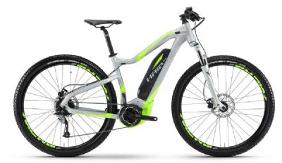 E-Bike-Angebot HaibikeSDURO Hardnine 4.0  silber/neongrün-matt Rh 50cm