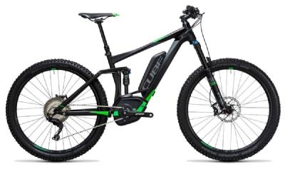 E-Bike-Angebot CubeStereo Hybrid 140 HPA Race 500 27,5 black n flashgreen