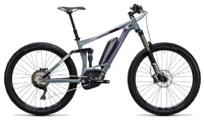 E-Bike-Angebot CubeSting WLS Hybrid 140 SL 500 27.5 grey´n´aubergine 18