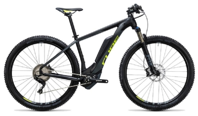 E-Bike-Angebot Cube Reaction Hybrid HPA SLT 500 black´n´flashyellow