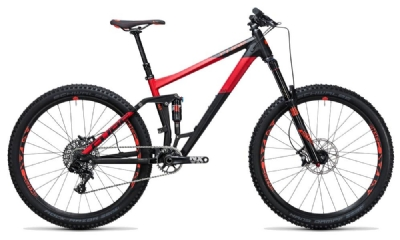 Mountainbike-Angebot Cube Stereo 160 HPA Race 27.5 black´n´red