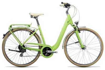 E-Bike-Angebot CubeElly Ride Hybrid 400 green´n´white