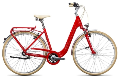 Cruiser-Bike-Angebot CubeElly Cruise red