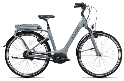 E-Bike-Angebot Cube Delhi Hybrid 500 grey´n´lime Rh 46 + 50
