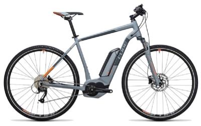 E-Bike-Angebot CubeCross Hybrid ONE 400 grey´n´orange