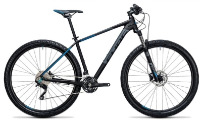 Mountainbike-Angebot Cube Attention black´n´blue