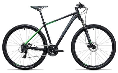 Mountainbike-Angebot CubeAim Pro black´n´green