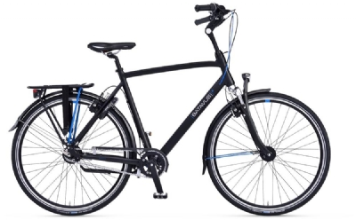 Citybike-Angebot BatavusAgudo, Black matt