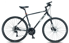 KTMItero Cross Herrenrad schwarz-matt