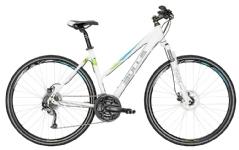 BullsCross Bike 1 Damen Trapez weiß-grün