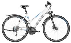 BullsCross Bike Street Damenrad weiß/blau