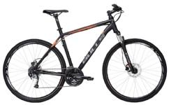 BullsCrossbike 1 Herren schwarz-matt-orange