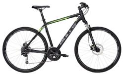 BullsCrossbike 2 Herren schwarz-matt-grün