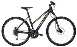BullsCrossbike 2 Damen schwarz-matt-grün