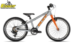 PukyS-Pro 20-7 Alu silber-matt-orange