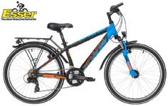 YazooSport 2.4 Jungen 24 Zoll schwarz-blau-orange